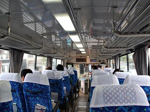 西日本鉄道 太宰府ライナーバス「旅人」 3932 車内