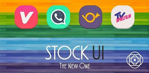 Stock UI - Icon Pack Imagem do Aplicativo