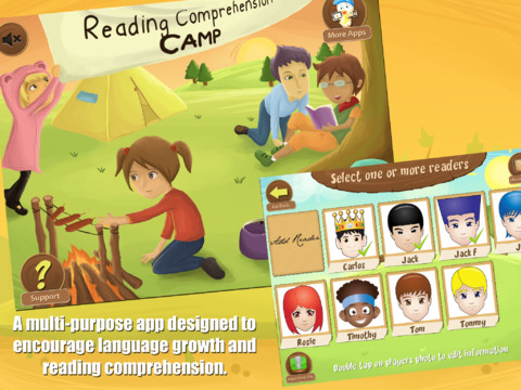 Reading Comprehension Camp Choose Readers