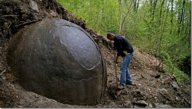 esferas gigantes da Bósnia 1