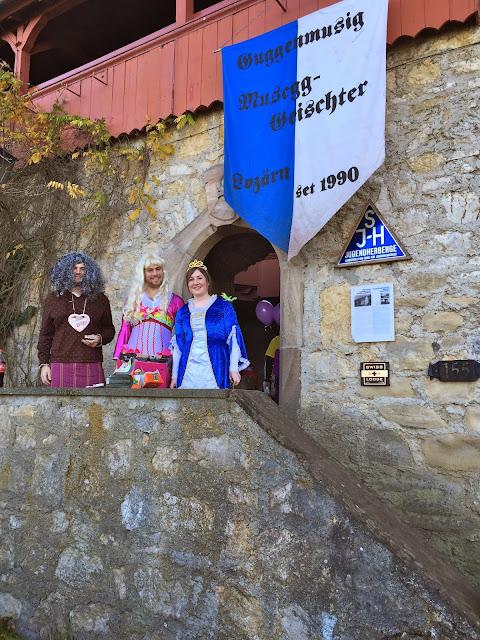 Probeweekend Burg Mariastein, 08./09.11.14