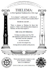 Cover of Anonymous's Book Thelema A New Spiritual Tradition for a New Age