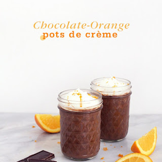 Chocolate-Orange Pots de Crème