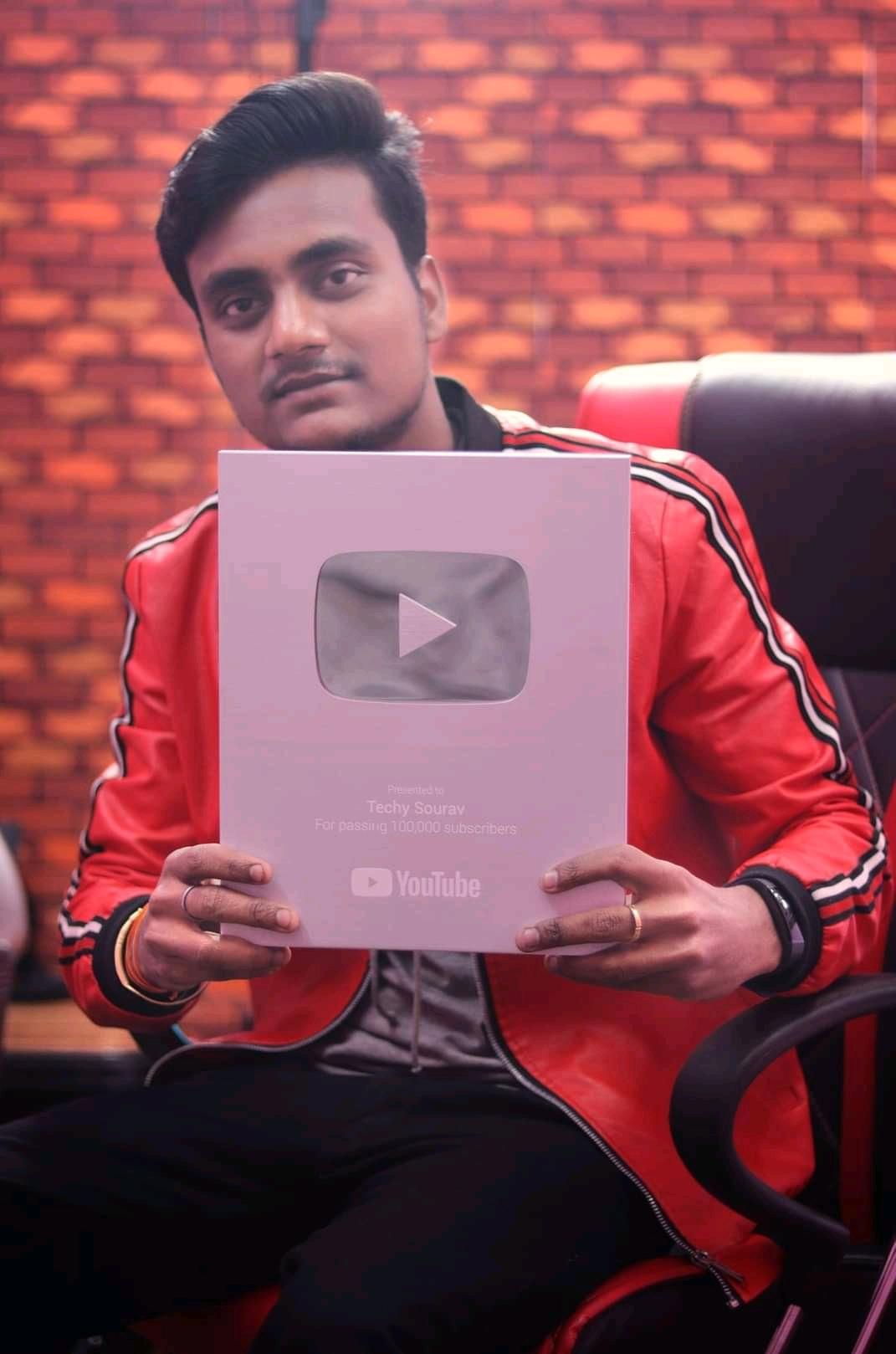 Techy Sourav YouTube Award (Sourav Gorai Biography)
