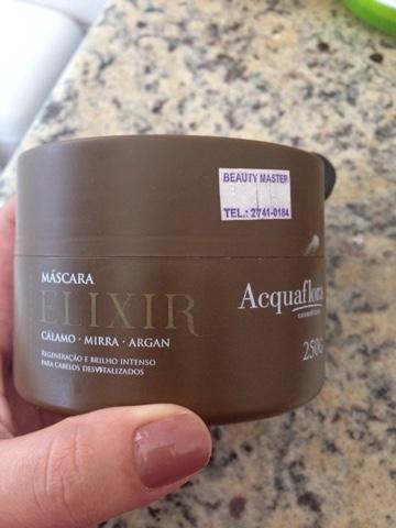 Produto testado e aprovado Aquaflora, Nutrição celular, Cabelos, Elixir