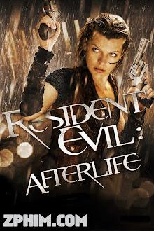 Vùng Đất Quỹ Dữ 4: Kiếp Sau - Resident Evil: Afterlife (2010) Poster