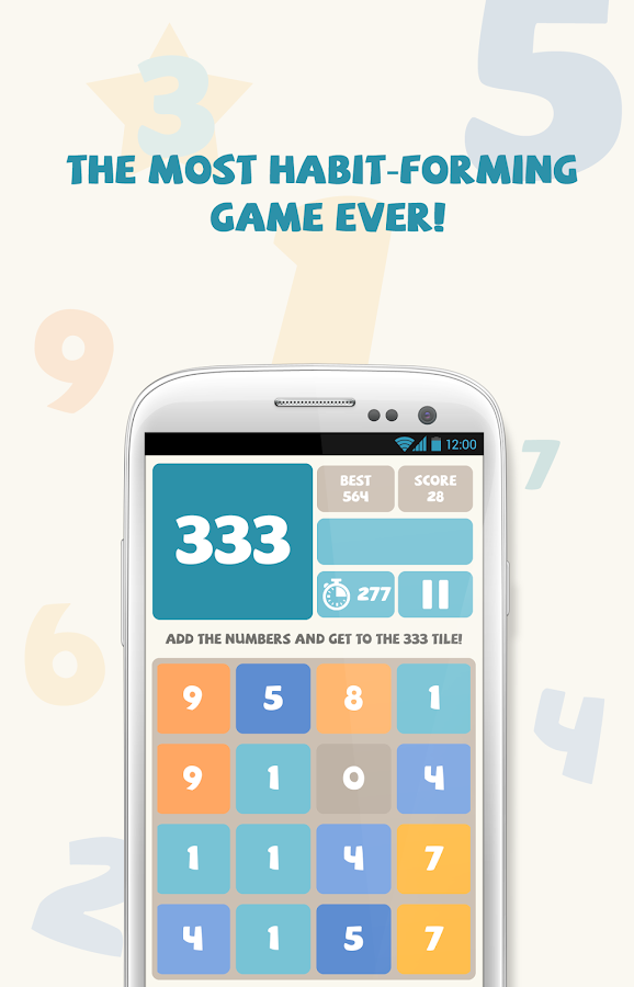 333 - The Great Number Puzzle- screenshot