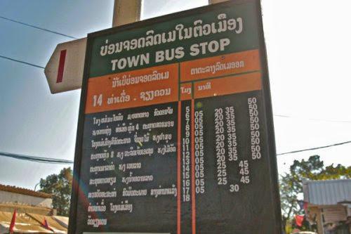 vientiane bus schedule