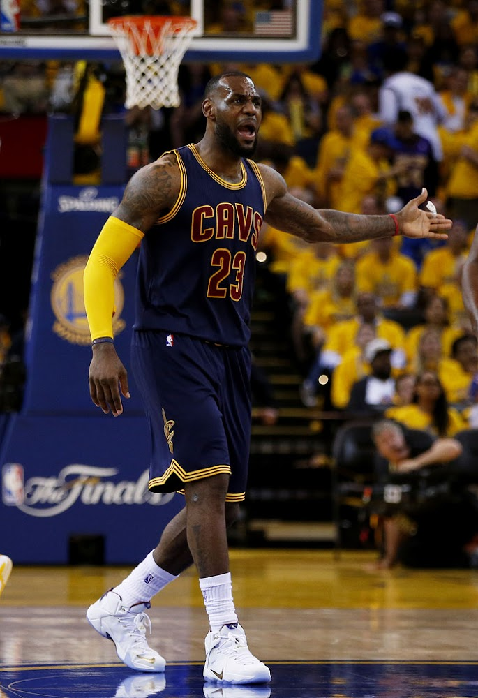 Cavs Lose Thriller, Kyrie? in Game 1 vs. Warriors. LeBron ...