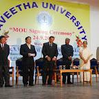 MOUWithSaveethaUniversityOfIndiaForJointBiomedicalResearchSep232007