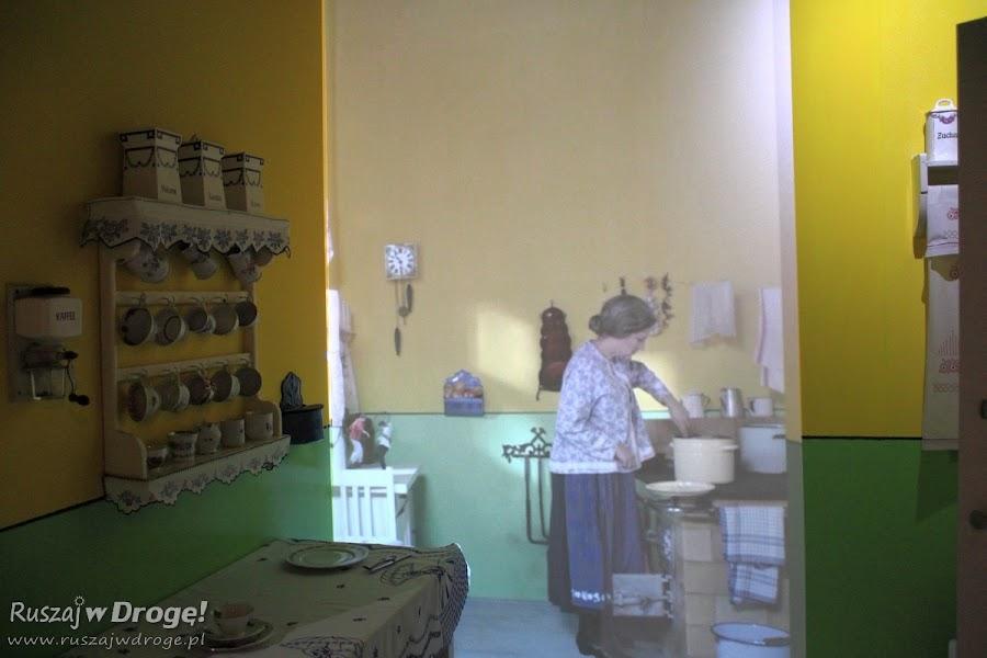 Muzeum Górnictwa Węglowego w Zabrzu - gwarki psocące u gospodyni