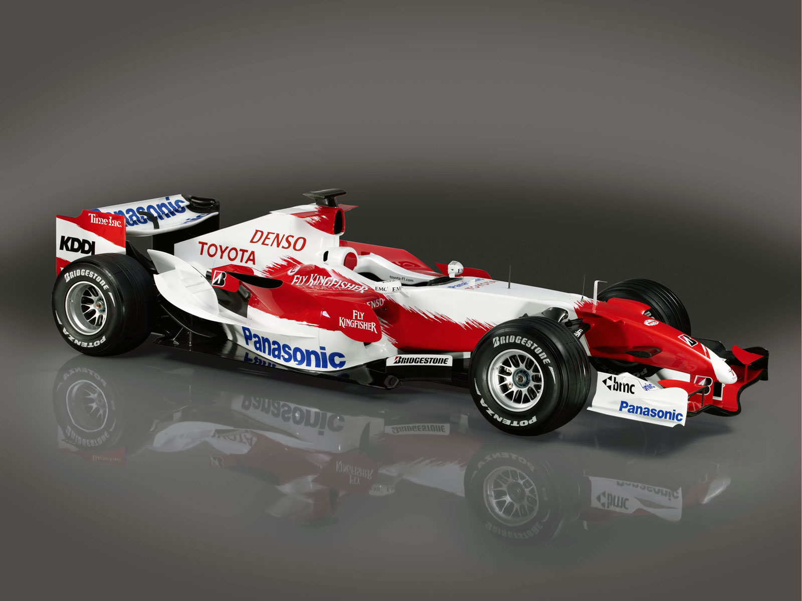 Toyota TF107 Right Front ...