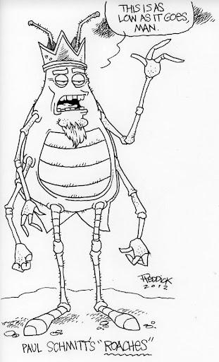 David Reddick Legend Bill Drawing Art