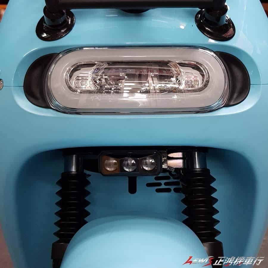 GOGORO2 貓瞳LED霧燈