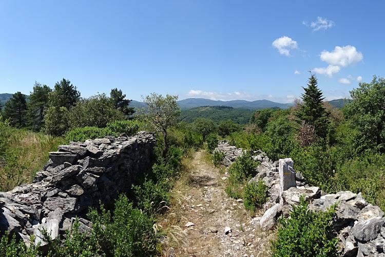 L'Hérault à pied - Les Palombières de Saint-Pons-de-Thomières