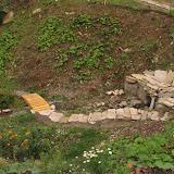 Исток Уинки - прочищено русло, выложены тропинки и ступеньки плитняком, построен и установлен мостик, высажены деревья, кустарники и однолетники