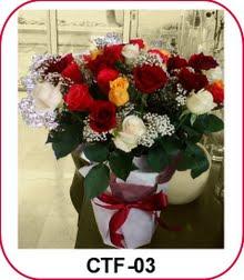 Rangkaian Bunga Meja