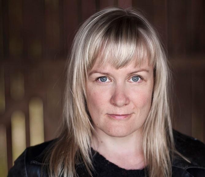 A szerző: Kati Hiekkapelto