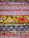 Flower printing cotton