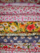 Flower printing cotton