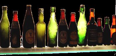 czubatka.pl :: zdjęcie :: kolorowe piwne butelki