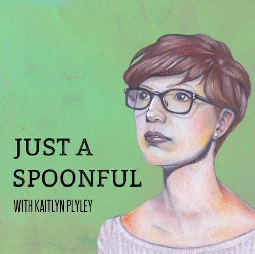 Just a spoonful podcast logo