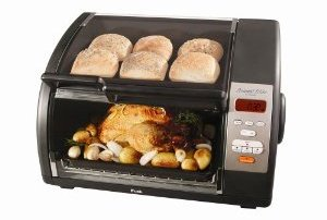 T-Fal Avante Elite 6 Slice Convection & Toaster Oven with Separate Warming Compartment