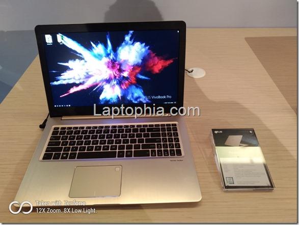 Asus Vivobook Pro 15 N580, Andalkan Duet Core i7-7700HQ & GeForce GTX 1050