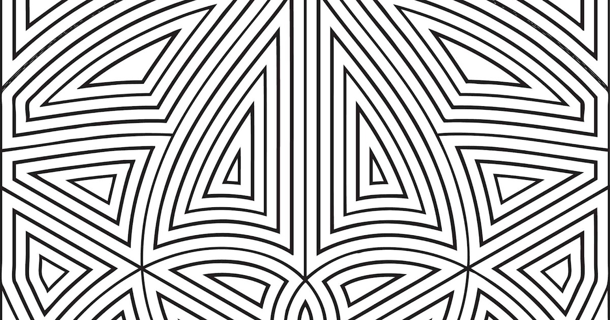 Unique Free Printable Hard Coloring Pages For Adults Image