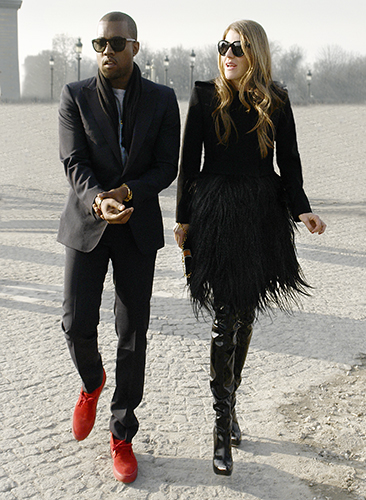 kayne west anna dello russo,modemajeure,streetstyle