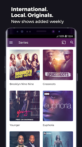 Showmax - Watch TV shows and movies screenshots 3