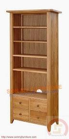 Tủ trưng bày gỗ 01