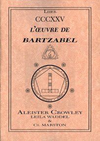 Cover of Aleister Crowley's Book Evocation of Bartzabel the Spirit of Mars