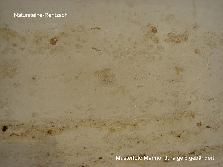 Jura Gelb Naturstein Marmor Fensterbank Poliert in 100x20x2cm
