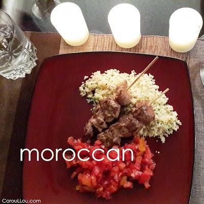 CarouLLou.com Carou LLou eating gourmet--+-