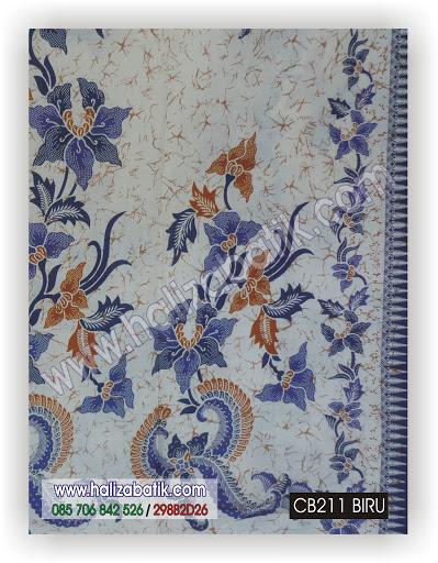 Toko Baju Online Murah, Kain Batik Modern, Jenis Jenis Batik, CB211 BIRU