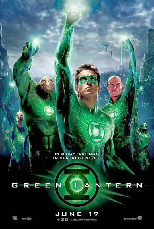 Poster Of Green Lantern (2011) Full Movie Hindi Dubbed Free Download Watch Online At Alldownloads4u.Com