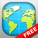 World Map 2017 FREE icon
