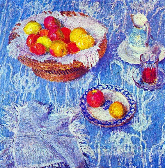 Igor Grabar - Blue Tablecloth