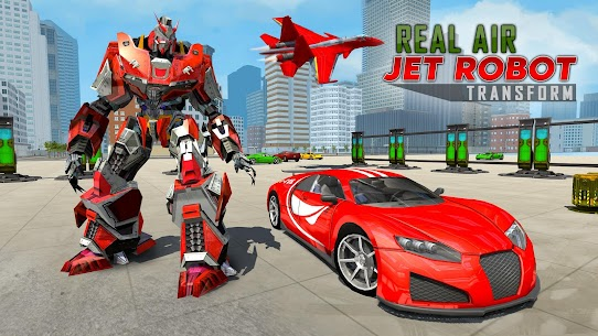 Real Air Jet Fighter – Grand Robot Shooting Games 4