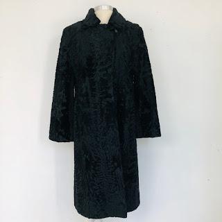 Broadtail (Astrakhan) Lamb Fur Coat