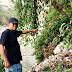 Tumpukan Sampah di Sungai Citatih Cibadak Viral