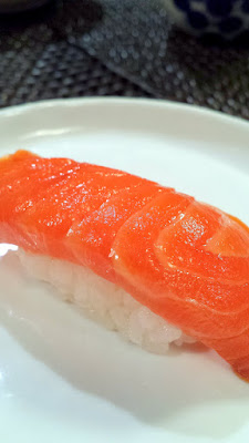 Tasmanian ocean trout Marinated 2 hours in soy sauce and finished with aged soy
