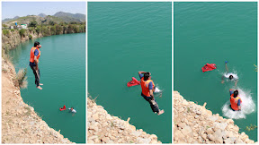 Cliff Diving, Khanpur Dam