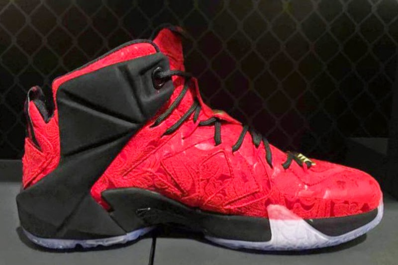 Nike Sportswear8217s 8220Red Paisley8221 LeBron 12 EXT Unveiled ... eb8400b2cac8