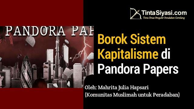 Borok Sistem Kapitalisme di Pandora Papers