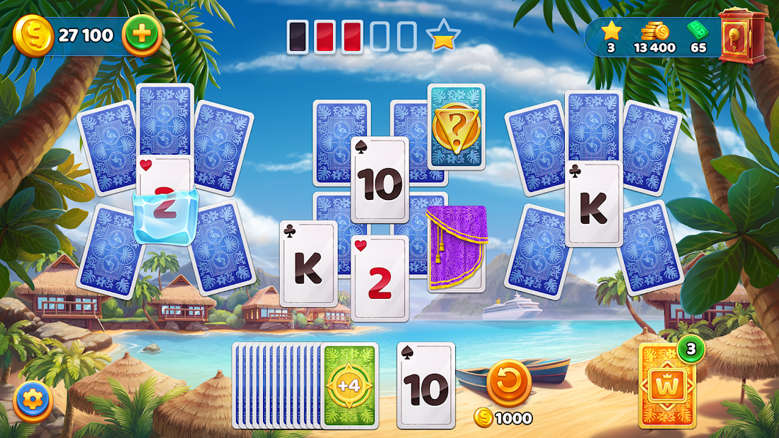 Solitaire Cruise Game: Classic Tripeaks Card Games Android App Screenshot