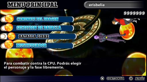 SAIU!! DRAGON BALL ANIME TENKAICHI 3 MOD DBZ TTT +MENU Para Android (PPSSPP)
