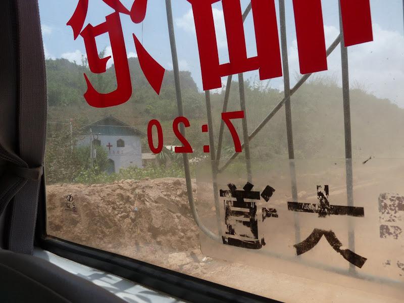 Menglian -Lancang- Lincang- Chongning + de 27 heures de car pratiquement non stop sur la route en construction