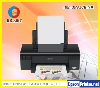 How to reset Epson ME-70 printer